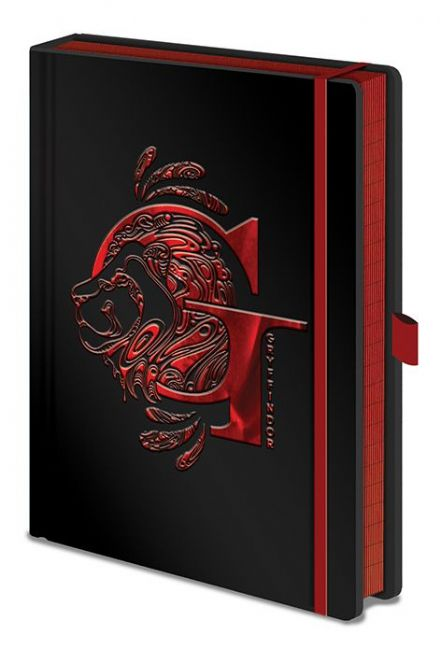 Harry Potter Foil Gryffindor A5 Notebook